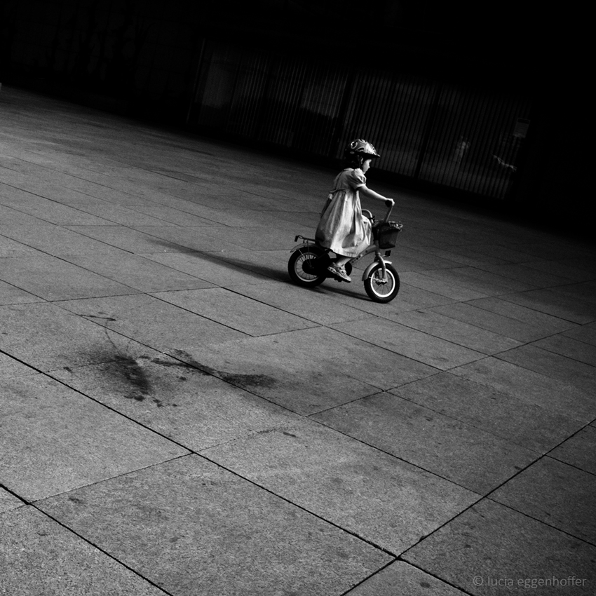 Let me ride my world, Prague, Czech republic © lucia eggenhoffer