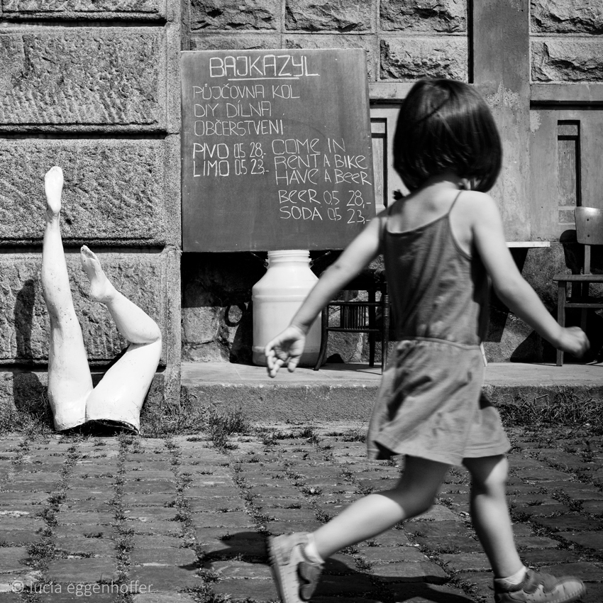 Legs are all you need, Prague, Czech republic © lucia eggenhoffer