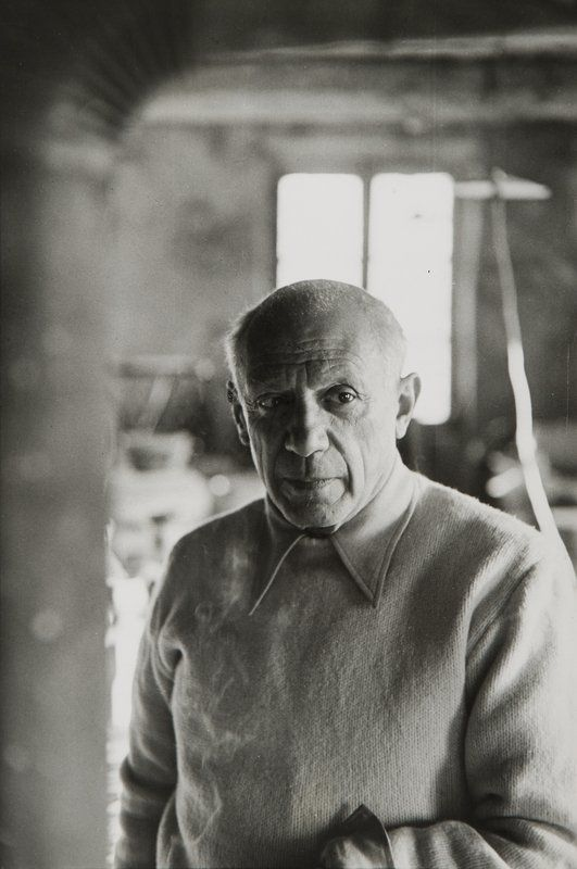 Pablo Picasso by Henri Cartier-Bresson